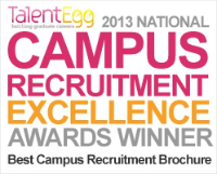 Campus Recruitment Excellence Awards 2013