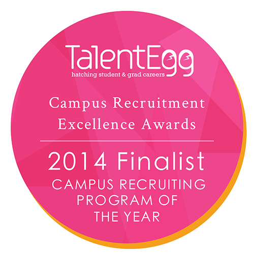 Campus Recruiting Program of the Year Finalist 2014