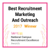 TalentEgg Award for Best Recruitment and Marketing Outreach 2017