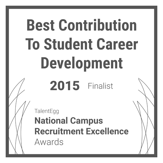 Best Contribution to Student Career Development Finalist 2015