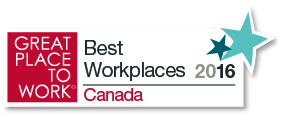 Best Workplaces Canada 2016