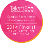 Campus Recruiter of the Year Finalist 2014