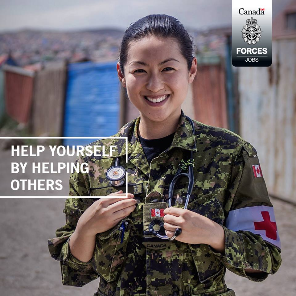Start Your Career at National Defence and the Canadian Armed Forces