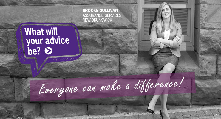 Everyone can make a difference|What will your advice be?
