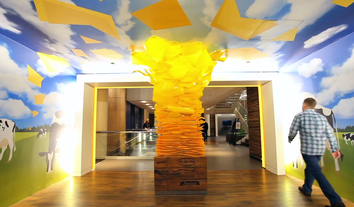 Kraft Office Cheese Slice Pillar