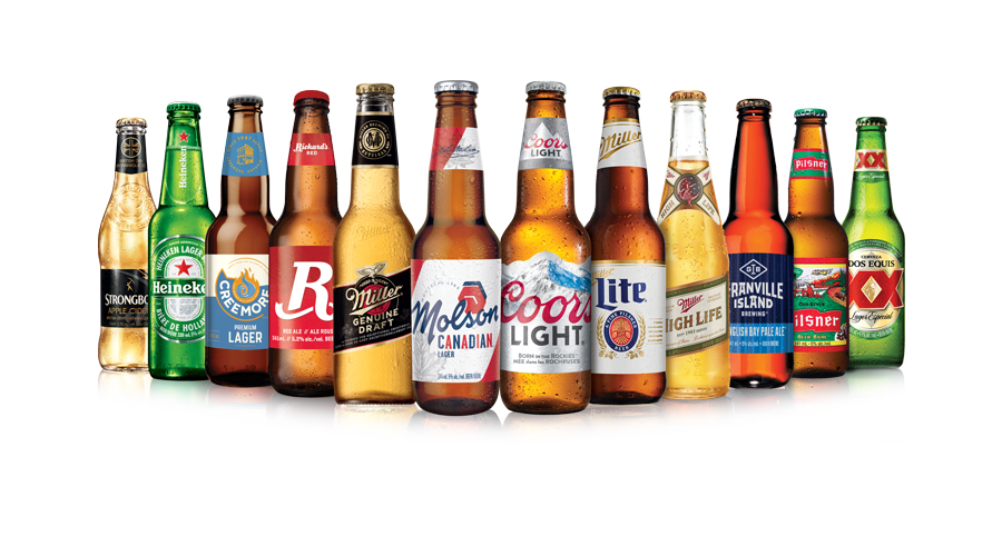 Molson Coors beer brands