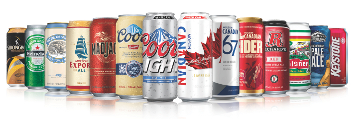 Molson Coors beer brands
