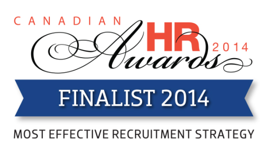 Canadian HR Awards Finalist 2014