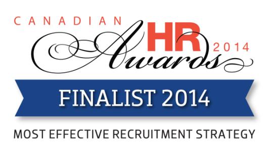 Canadian HR Awards Finalist 2014