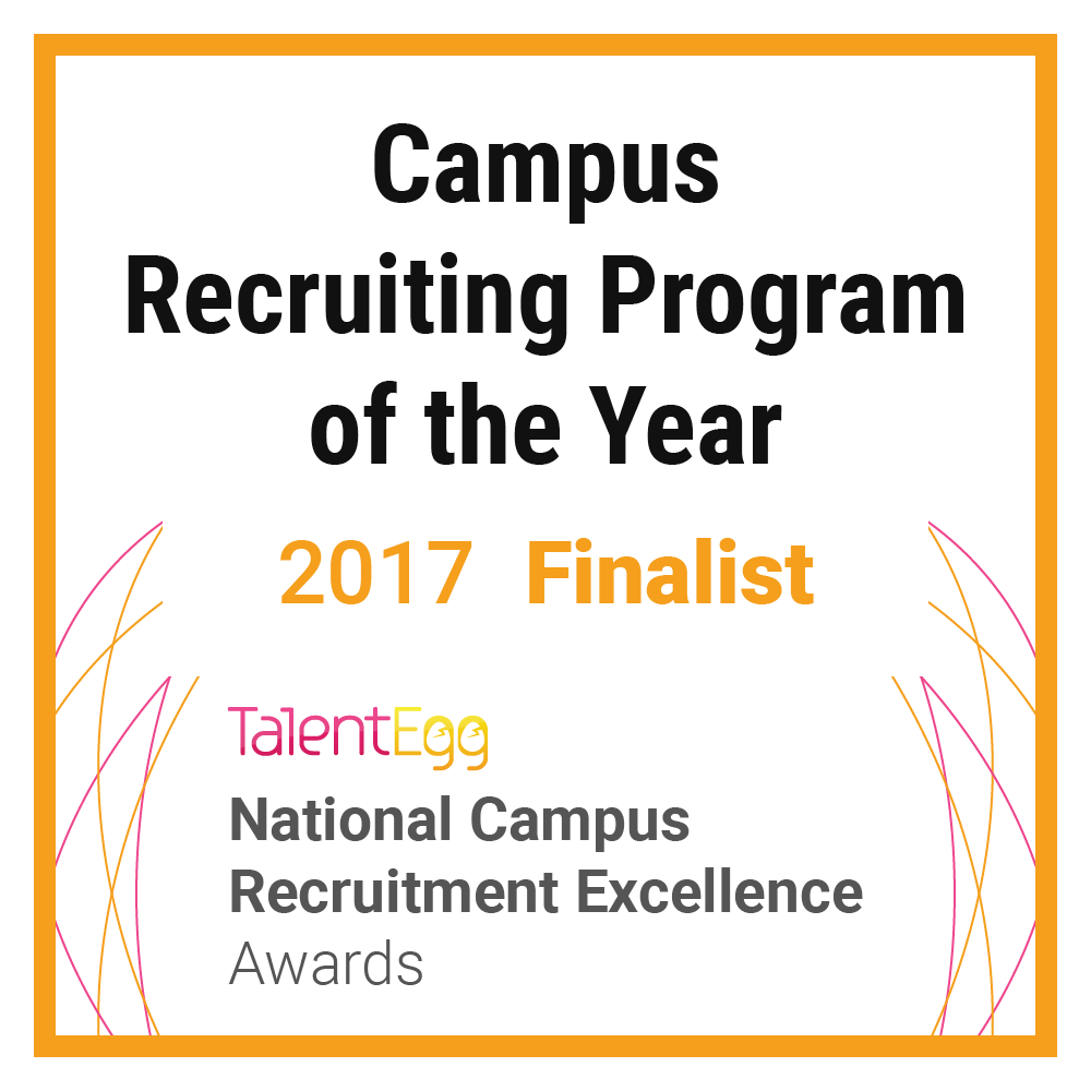 Campus Recruiting Program of the Year Finalist