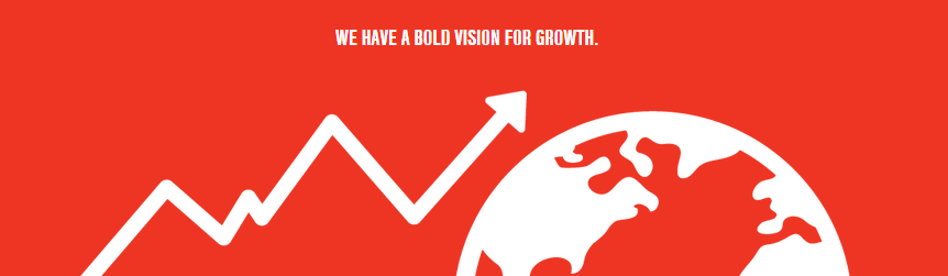 We have a bold vision for growth