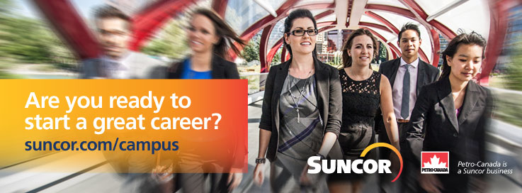 Are you ready to start a great career?|suncor.com/campus