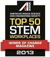 Top 50 STEM Workplaces 2013