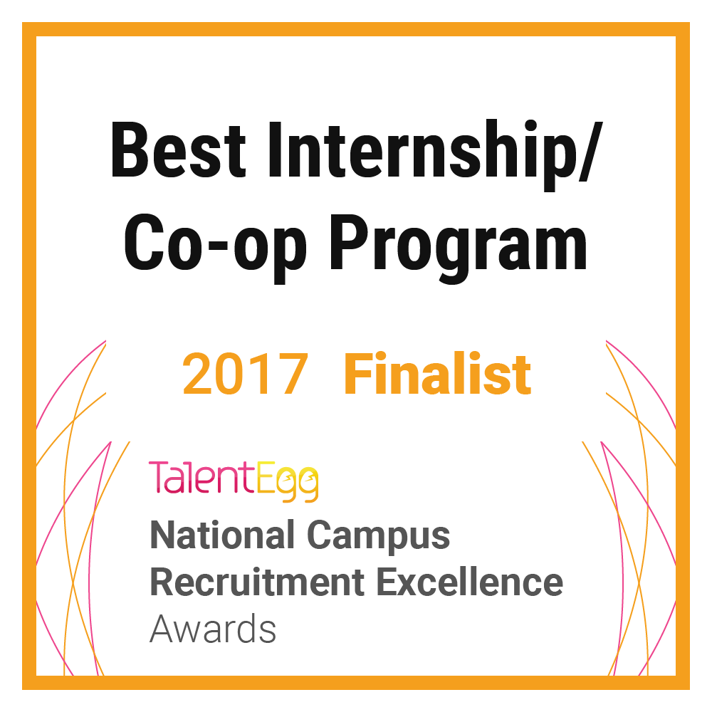 Best Co-op Internship Program