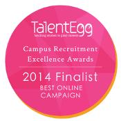 Best Online Campaign Finalist 2014