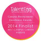 Best Campus Career Website Finalist 2014