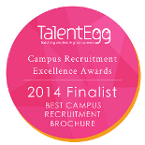Best Campus Recruitment Brochure Finalist 2014