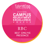 TalentEgg Award - Best Online Presence